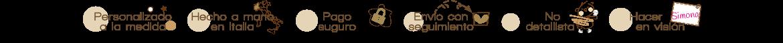 Hola, soy Simona (LOVEDOORMAT) Soy un diseñador artesano que hago a mano en Italia accesorios de decoración personalizados, hechos a mano para la entrada de hogares y empresas